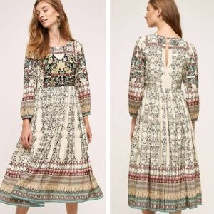 Anthropologie Bhanuni by Jyoti Far Fields Dress 4